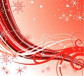 foto of card christmas  - Abstract christmas background - JPG