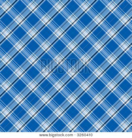 Bright Blue Plaid