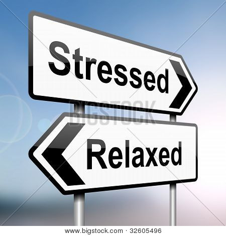 Stressed Or Relaxed.