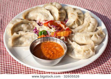 Vegetarian Nepalese Momo