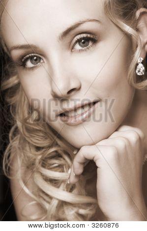 Beautiful Blond Bride