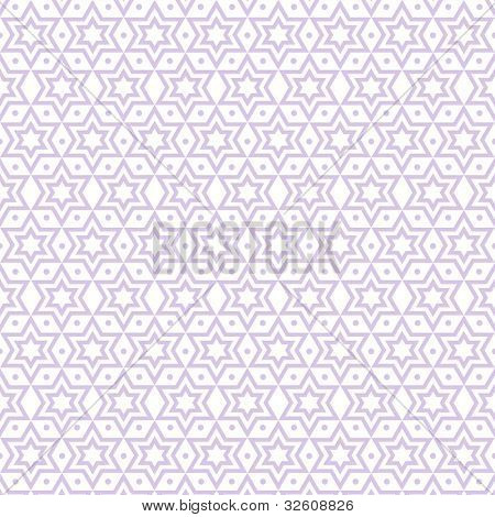 Beautiful background of seamless stars and dots pattern