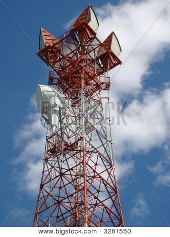 Communications Tower And Horns