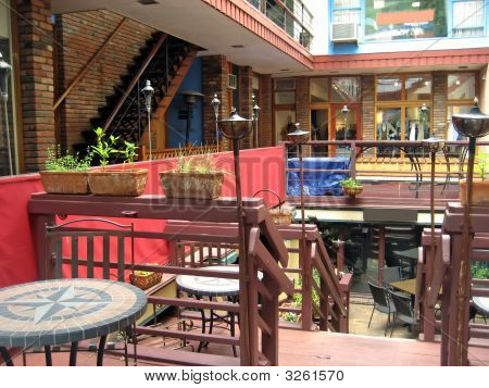 Outdoor Shopping Plaza