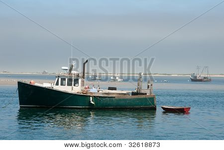 Cape Cod Lobster Boat