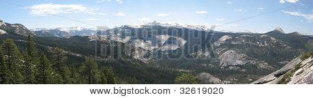 Yosemite Wilderness Panorama