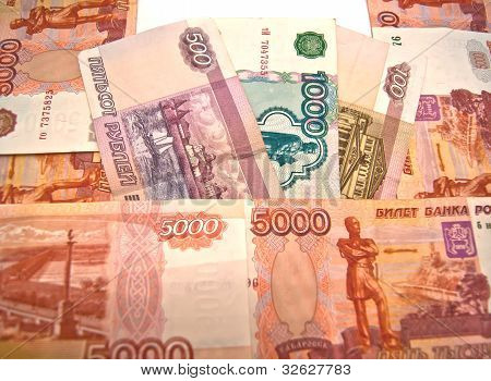 100, 500, 1000 And 5000 Rubles