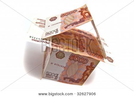 House Of Russian 5000 Rubles Banknotes