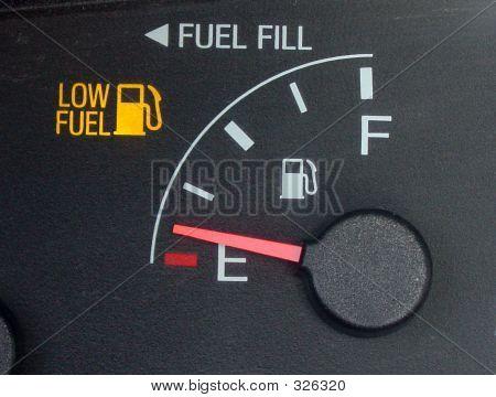 Gas Gauge Empty