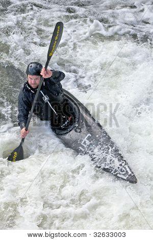 Slalom de água branca