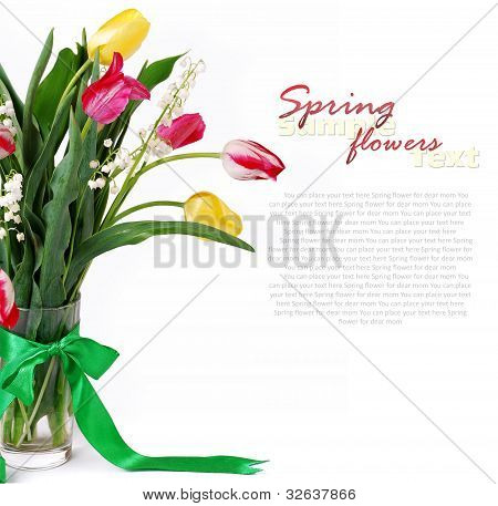 Bouquet Of Spring Flower