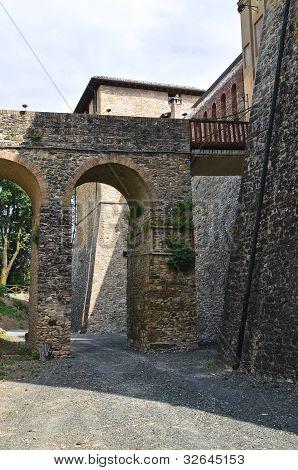 Castle of Felino. Emilia-Romagna. Italy.