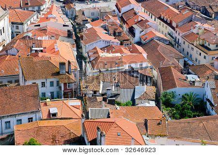 Leiria old town, Portugal