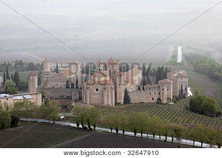 Monastery in Catalonia, Spain