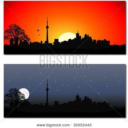 Cityscape of Toronto