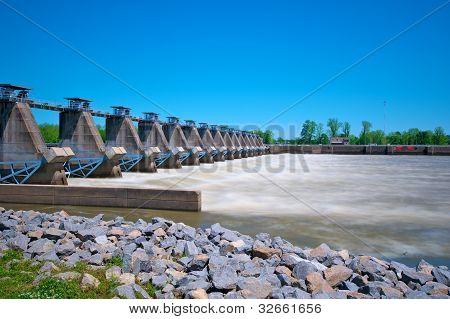River Lock And Dam