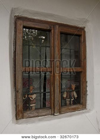 Window Of The Ion Creanga's Memorial House
