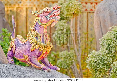 Himmapan animals statue