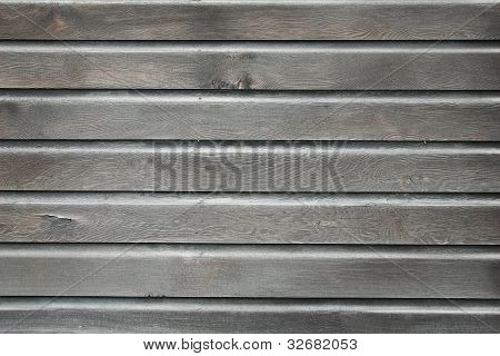 Weathered, Vintage Coved Siding