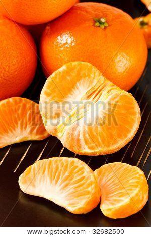 Peeled Mandarin Orange Sections
