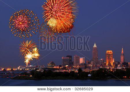 Fireworks Over Cleveland