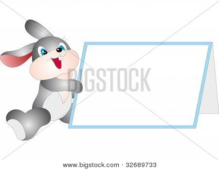 Rabbit and Blank vector