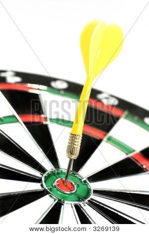 Dart In A Dartboard