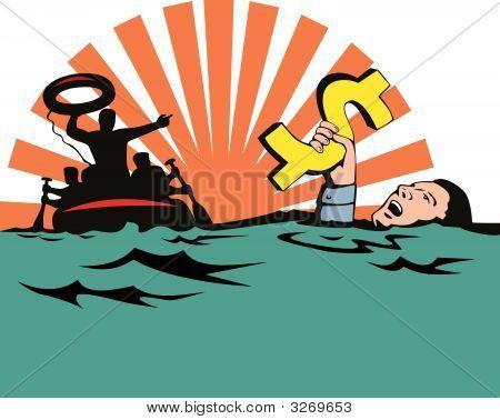 Man Sinking