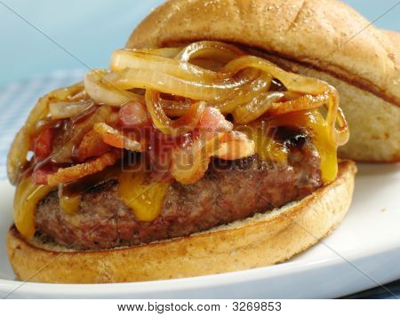 Bacon Bbq Cheeseburger