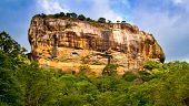 Sigiriya Lion Rock Fortress Sri Lanka.tourist Location.frescoes At The Ancient Rock Fortress Of Sigi poster