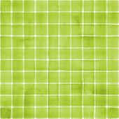 Watercolor Stripe Plaid Seamless Pattern. Green Color Stripes On White Background. Watercolour Hand  poster