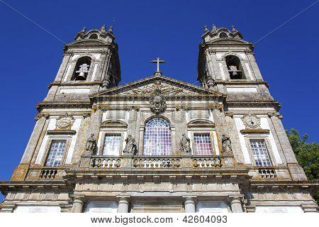 Church Of Bom Jesus Do Monte. Braga, Portugal