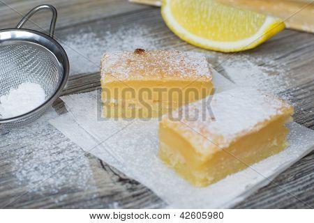 Sweet Lemon Squares