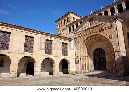 Collegiate Church Of Santa Juliana, Santillana Del Mar, Cantabria, Spain