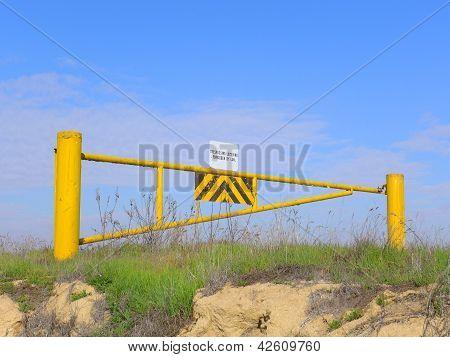 Puerta de oscilación