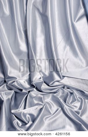 Elegant White Satin