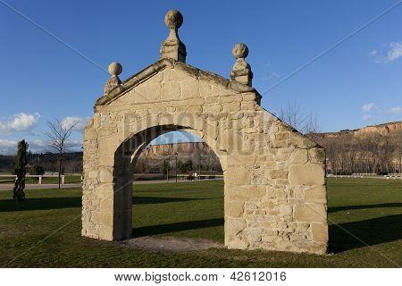 Ancient Walls, Logro�o, La Rioja, Spain
