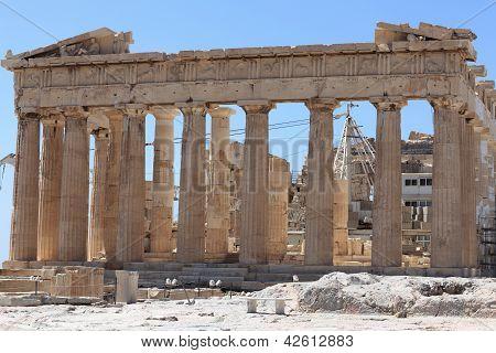 Facade Of Parthenon