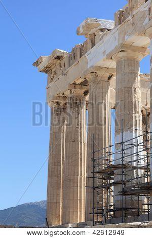 Part Of Parthenon
