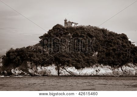 Island Of Boa Viagem In The City Of Niteroi