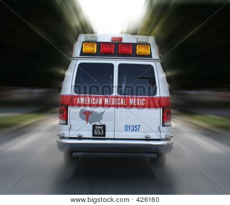 Ambulance In Route (fictitious Company Name)