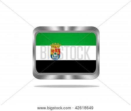 Metal Extremadura Flag.