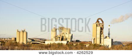 Cement Factories Panorama