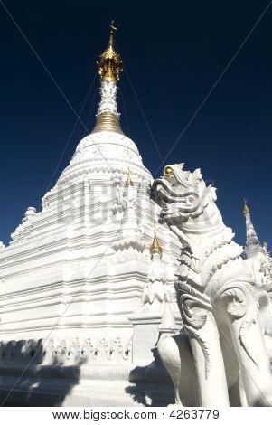White Wat Chiang Mai Thailand