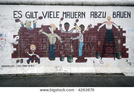 Berlin Wall Graffiti