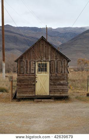 Abandoned Wooden Hut