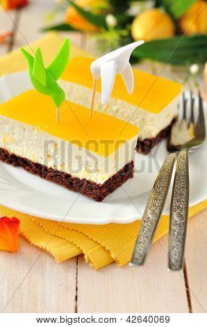 Orange Quark Cake