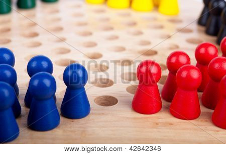 Chinese Checkers Figurine