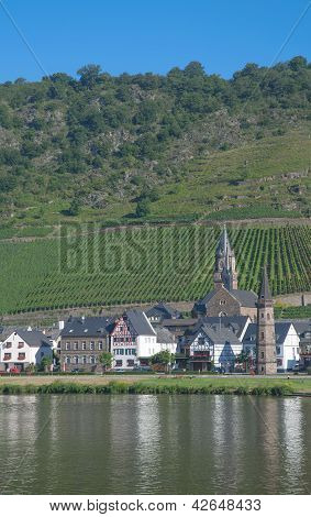 Hatzenport,Mosel River,Germany
