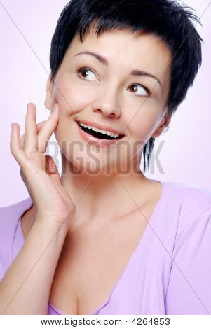 Woman With Good Condition Of Skin